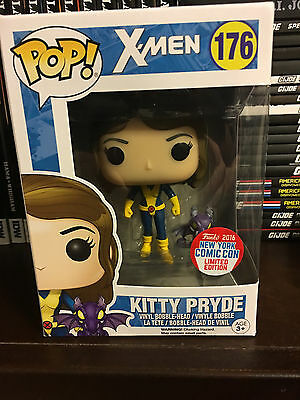 FUNKO POP Marvel KITTY PRYDE #176 (X-Men) in box Comic Con 2016 Exclusive