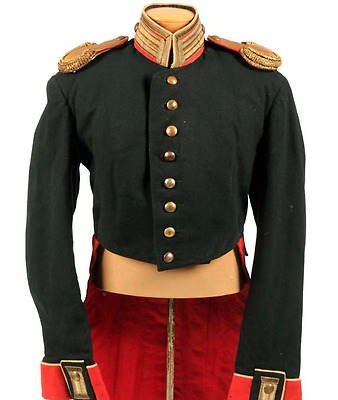 Antique 19th Century Imperial German Officer s Coatee Tunic Uniform Prussian f48b7d33ef9e