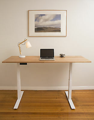 STANDING DESK with Memory - ELECTRIC Height Adjustable Desk - Sit Stand Desk