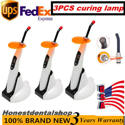 5PCS 1500mw 5W Dental Wireless Cordless Curing Light Curing Lamp LED.B type