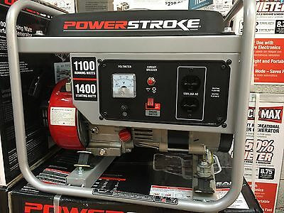 POWERSTROKE 1100W Gas Powered Portable Generator Model # PS901200D