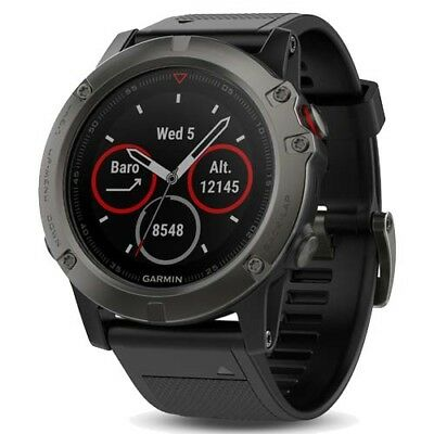 Garmin Fenix 5X Sapphire Slate Gray with GEN GARMIN WARRANTY