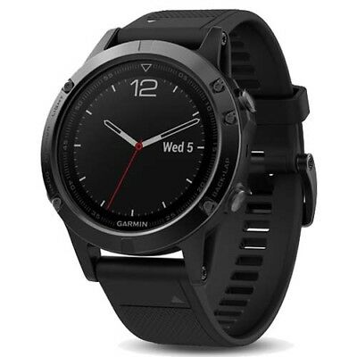 Garmin Fenix 5 Sapphire Black with GEN GARMIN WARRANTY