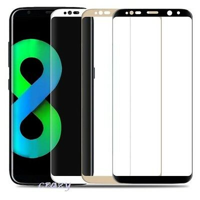 3D Curved Full Tempered Glass Screen Protector for Samsung Galaxy S8 | S8+ Plus