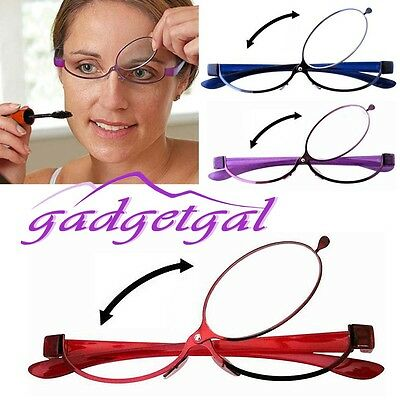 180º Flip Over Magnifying Makeup Glasses Eyelashes Eye Mascara Cosmetics 1.5-4.0