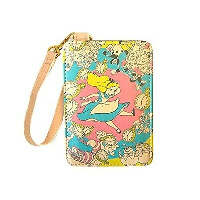 NEW DISNEY Alice in Wonderland Card Case Pass case from Japan F/S
