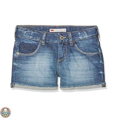 Levis Tg: 3 Anni Blu Nelly Shorts Bambina Nuovo