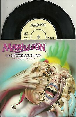 Marillion - He knows, you know (1983) UK 7""