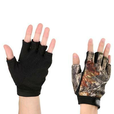 Breathable Non-Slip Fingerless Fishing Gloves Cycling Fishing Gloves