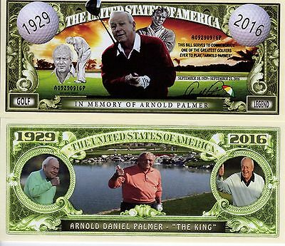 Arnold Palmer Golf Series Million Dollar Novelty Money