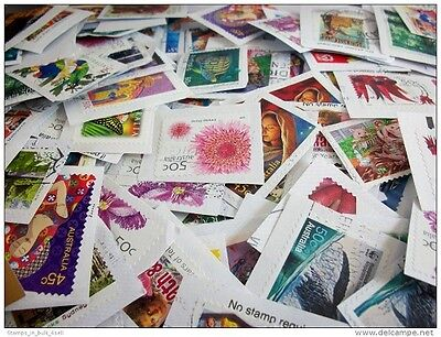1kg Australian Collection Used Postage Stamps Bulk Kiloware Mixed Post