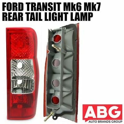 For Ford Transit Mk6 Mk7 2000 to 2013 Rear Back Light Lamp Lens Right Tail Lamps