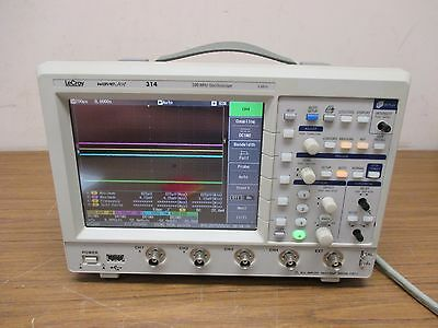 LeCroy WaveJet 314 1GS/s 100MHz 4 channel Digital Oscilloscope
