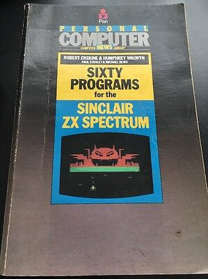 Sixty Programs For Zx Spectrum BOOK
