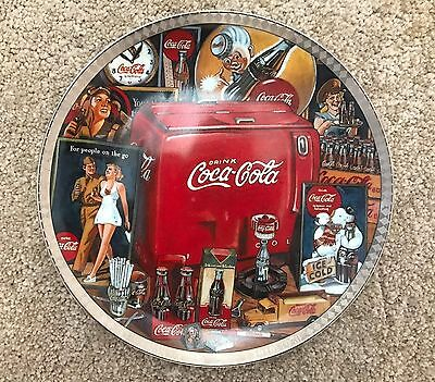 The Eras of Coca Cola 1940 - 1950 Collector's Plate Numbered Edition