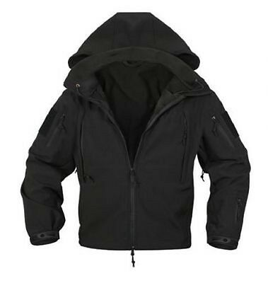 US Special SPEC OPS Softshell Army TACTICAL SOFT SHELL JACKET JACKE Black XL