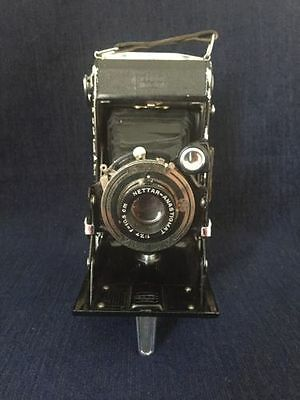 Vintage 1936 Zeiss Ikon Nettar 510/2 Folding Bellows Camera