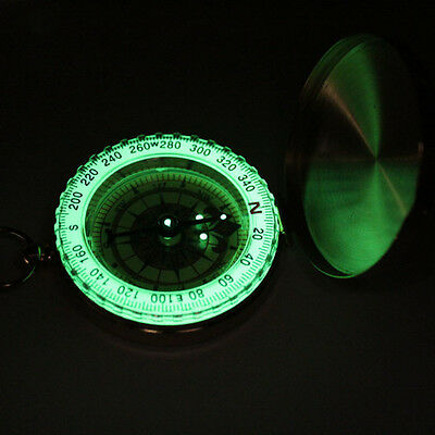 Glow In the dark Old Compass Retro Classic GPS Way Finder Sea Captain Science