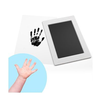 Baby Safe Ink Pad: Clean-Touch Baby Footprint & Handprint Kit 2 Uses Mess-Fre...