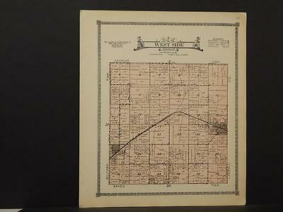 Iowa, Crawford County Map, 1920, West Side Township, Z6#54