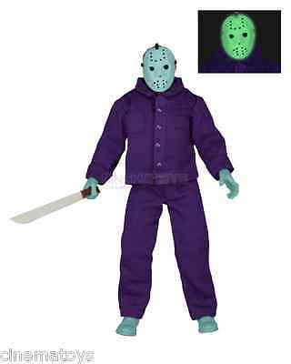 "Friday the 13th Classic Video Game Appearance Clothed Jason Voorhees 8"" Figures"