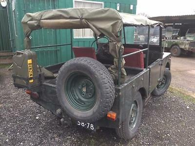 """Land Rover Minerva 4x4 - Based on Land Rover Series 1 80"""" Sound Chassis,Bulkhead"""
