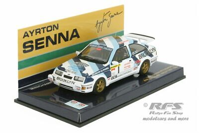 Ford Sierra RS Cosworth - Rallye Test 1986 - Ayrton Senna - 1:43 Minichamps