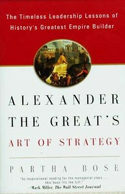NEW Ancient Greece Alexander the Great Art of Strategy Leadership Wars Conquests