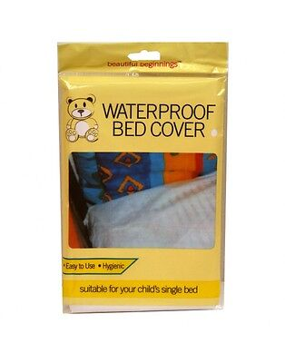 Kids Children's Waterproof Bed Mattress Cover - Child's Single Bed Sheet