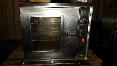 Jasons Stainless Steel Single Electric Half Size 1/2 Commercial Convection Oven
