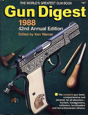 Collectors Book Gun Digest 1988 42nd Annual Edition