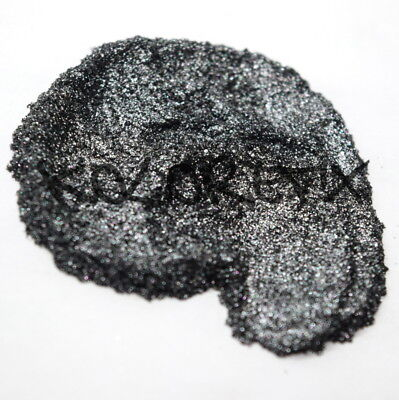 Black Ice Pearl Glitter Effect Pigment for Plastidip Art paint Halo Polish