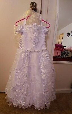 White Gown size 3t