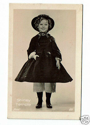 Shirley Temple Actress Vintage Ross Photograph card 2.5 x 1.5 inches  #12