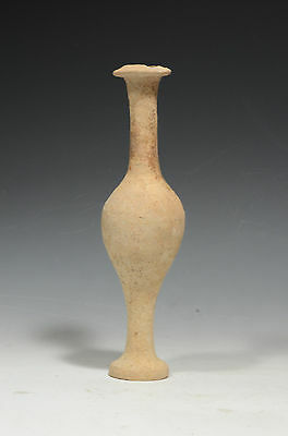 Ancient HELLENISTIC (GREEK) Pottery UNGUENTARIUM Vessel 3rd-2nd Century B.C.