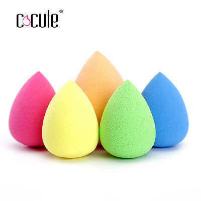 2x New Makeup Beauty Sponge Blender Smooth Flawless Foundation Puff Powder