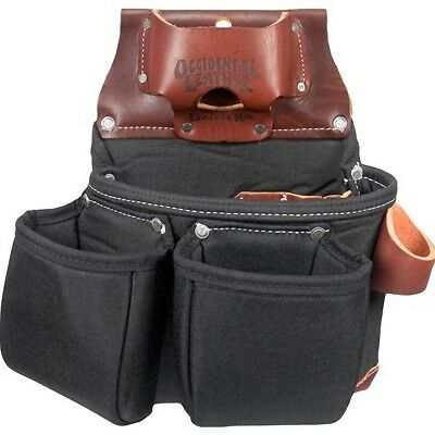 Occidental Leather B8018DB Black OxyLights 3 Pouch Tool Bag w/ Tape Holder