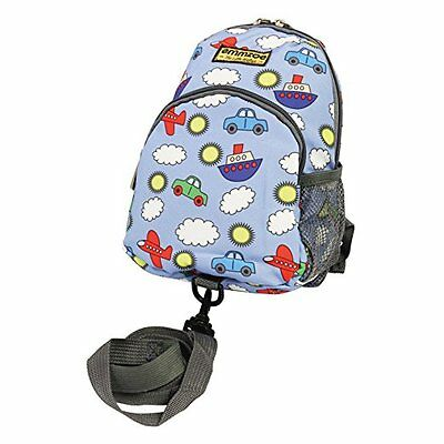 Emmzoe Toddler Backpack with Detachable Safety Harness Leash (Sky Blue)