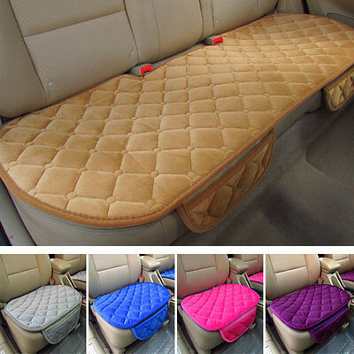 Single Front Auto Car Vehicles Seat Cushion Cover Mat Anti-skid Universal