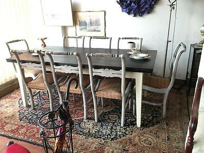 .french Provincial X-Large Extension Dining Table... Seats Up To 12