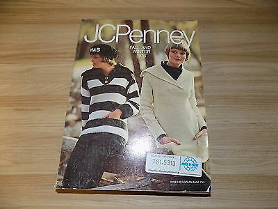Vintage JC Penny Fall and Winter  Catalog 1976