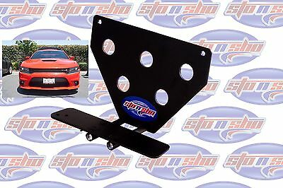 2015-18 Dodge Charger Hellcat License Plate Removable Take Off Bracket