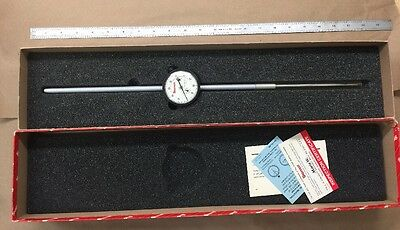 "Starrett 5"" Travel Dial Indicator FLAWLESS 53312 AGD Group 2 - Model: 25-5041J"