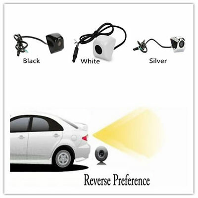 HD Waterproof CCD NTSC Car Backup Rear View Reverse Camera Wide Night Vision