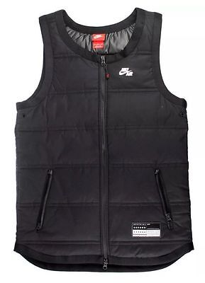 NWT MEN'S NIKE 802648 010 AIR VEST THERMORE INSULATED ATHLETIC VEST Small $130