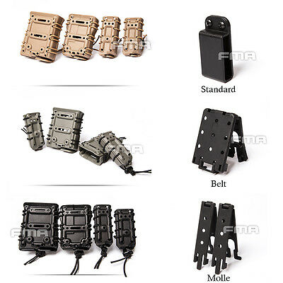 FMA Scorpion Mag Single Pouch Carrier 5.56/7.62/9MM/45acp for Molle/Belt System