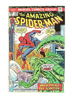 AMAZING SPIDER-MAN #146 comic book-MARVEL-THE SCORPION COVER~ NEW