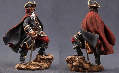 Tin toy soldiers ELITE painted 54 mm   Pirate Henry Morgan, 1670´s
