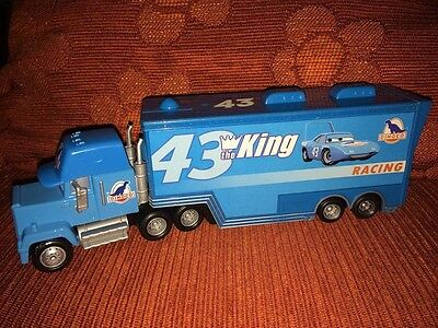 CARS - GRAY HAULER - Camion THE KING Loose Mattel Disney Pixar SFUSO NUOVO mack