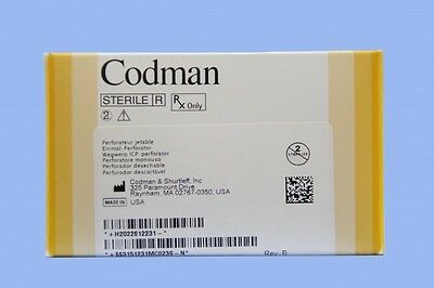 26-1223: Codman Disposable Perforator w/Hudson End, 9/6mm (in-date)